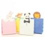กระเป๋ากระดาษรูปสัตว์น่ารัก ชุด 4 ใบ